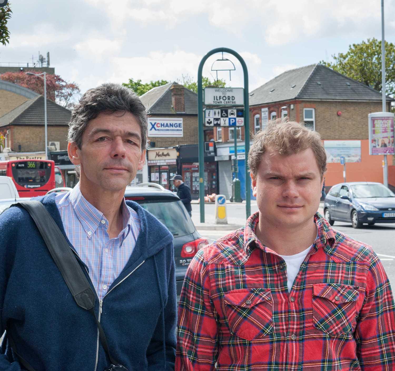 Aftonbladets Peter van den Berg och Petter J Larsson på plats i London.