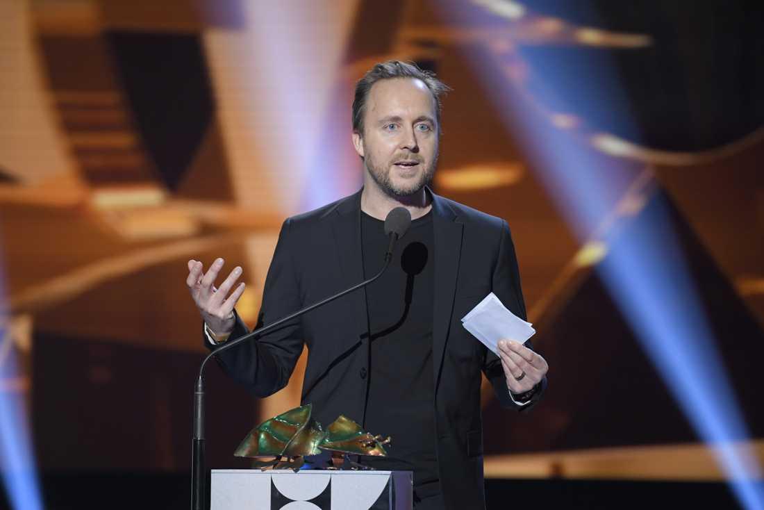 """Carl Javér fick priset för bästa regi i filmen """"Rekonstruktion Utöja""""."""