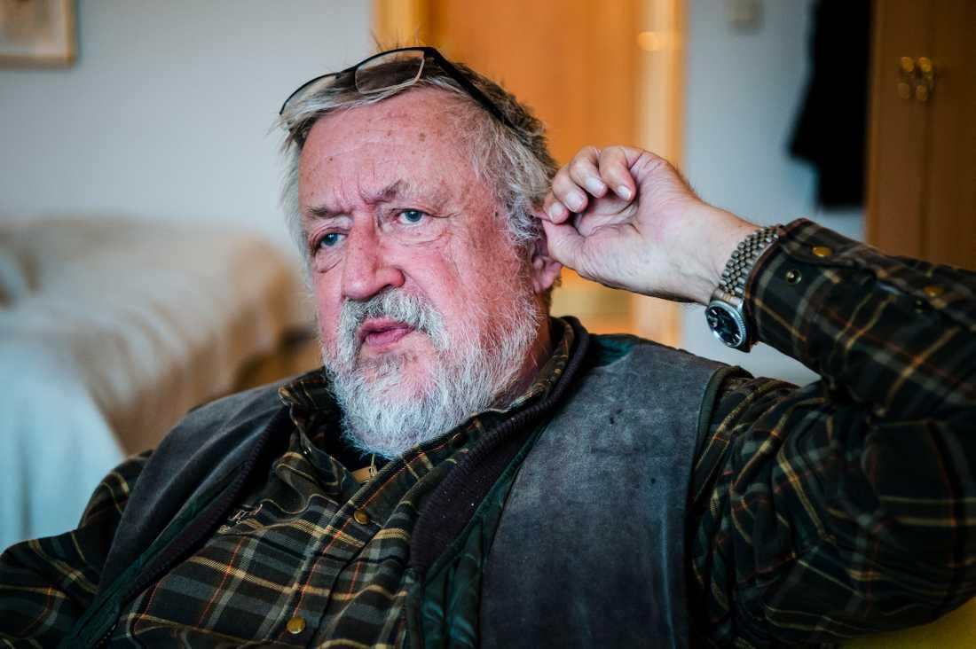 Kriminologiprofessor Leif GW Persson