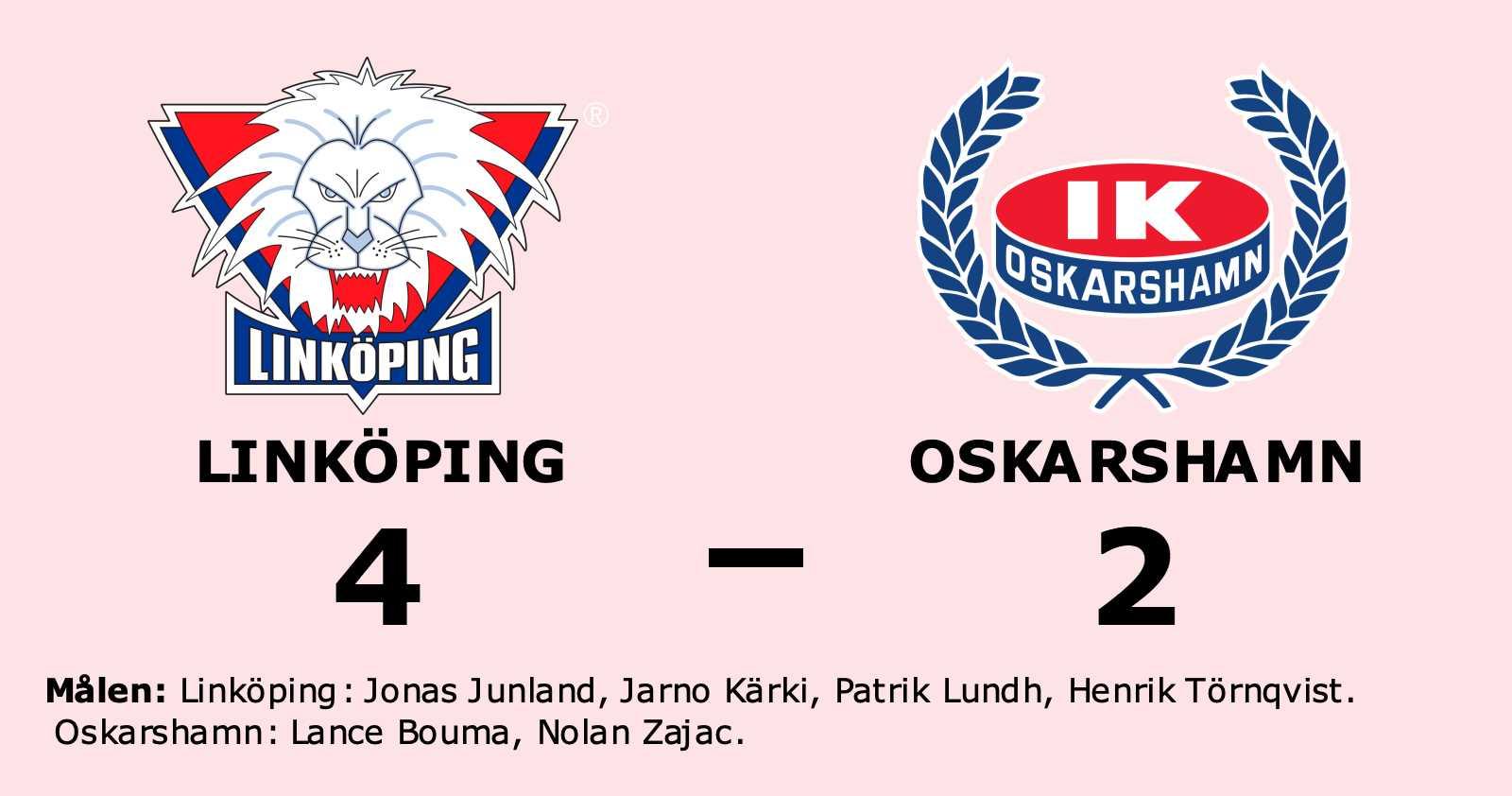 Linköping bröt tunga sviten mot Oskarshamn