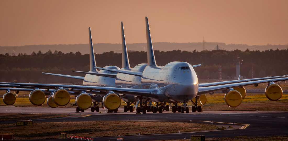 Boeing har under april bara levererat sex flygplan. Arkivbild.