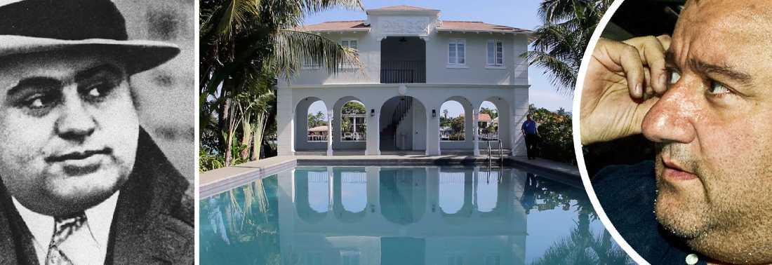 Gangstern Al Capone bodde sin sista tid i livet i den här lyxvillan i Miami.