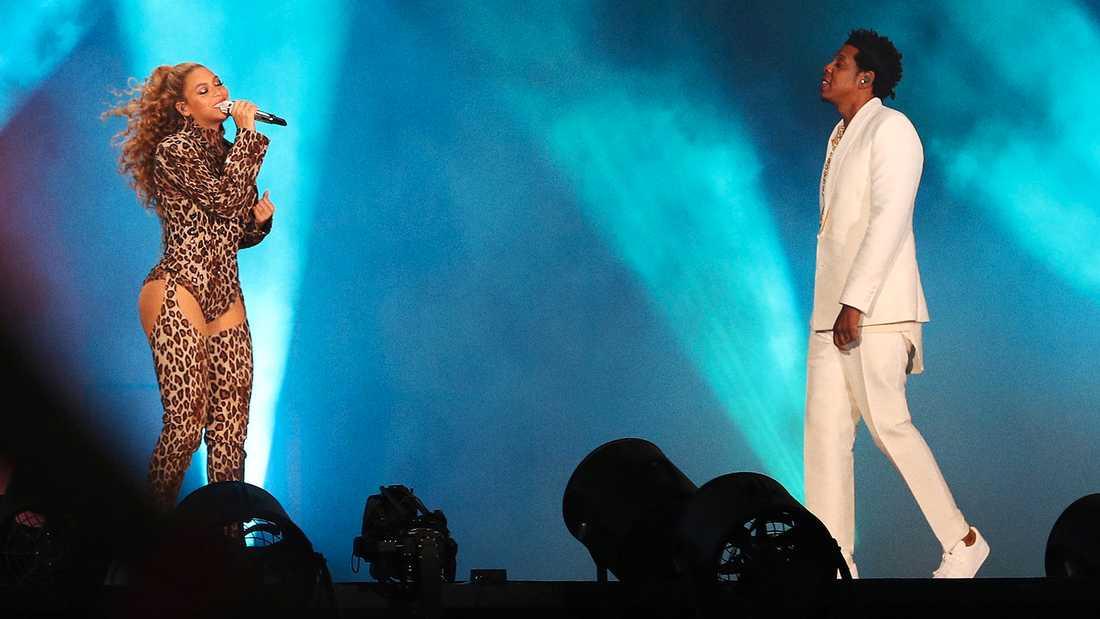 Beyoncé och Jay-Z i Köpenhamn.
