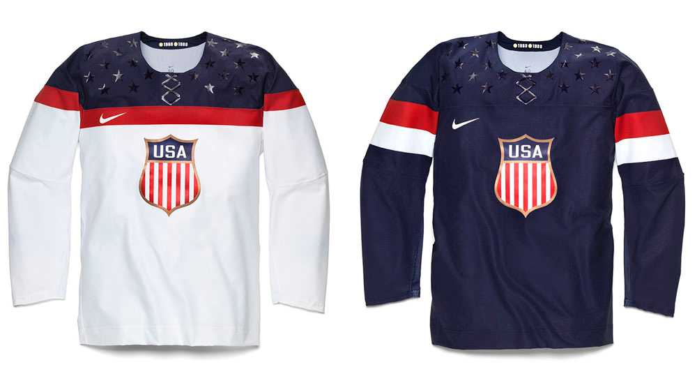USA:s OS-tröjor.