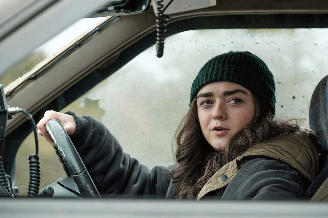 "Maisie Williams i ""Two weeks to live""."