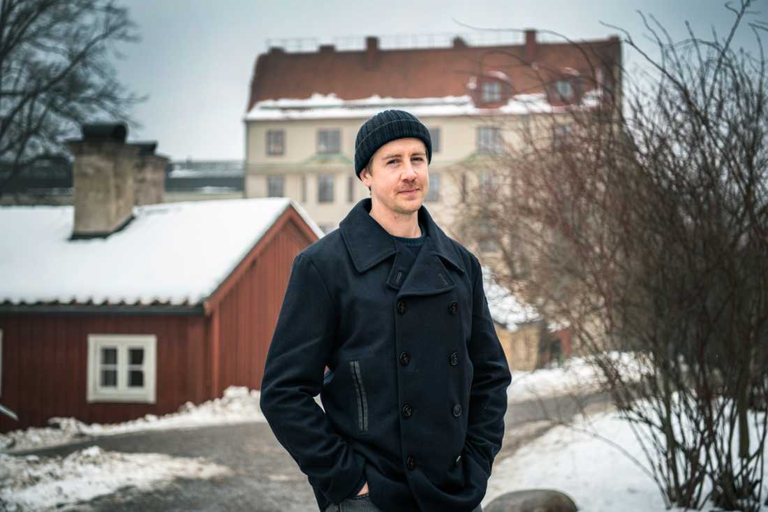 """Pål Sverre Hagen är tillbaka som finansmannen William i NRK-serien """"Exit""""."""