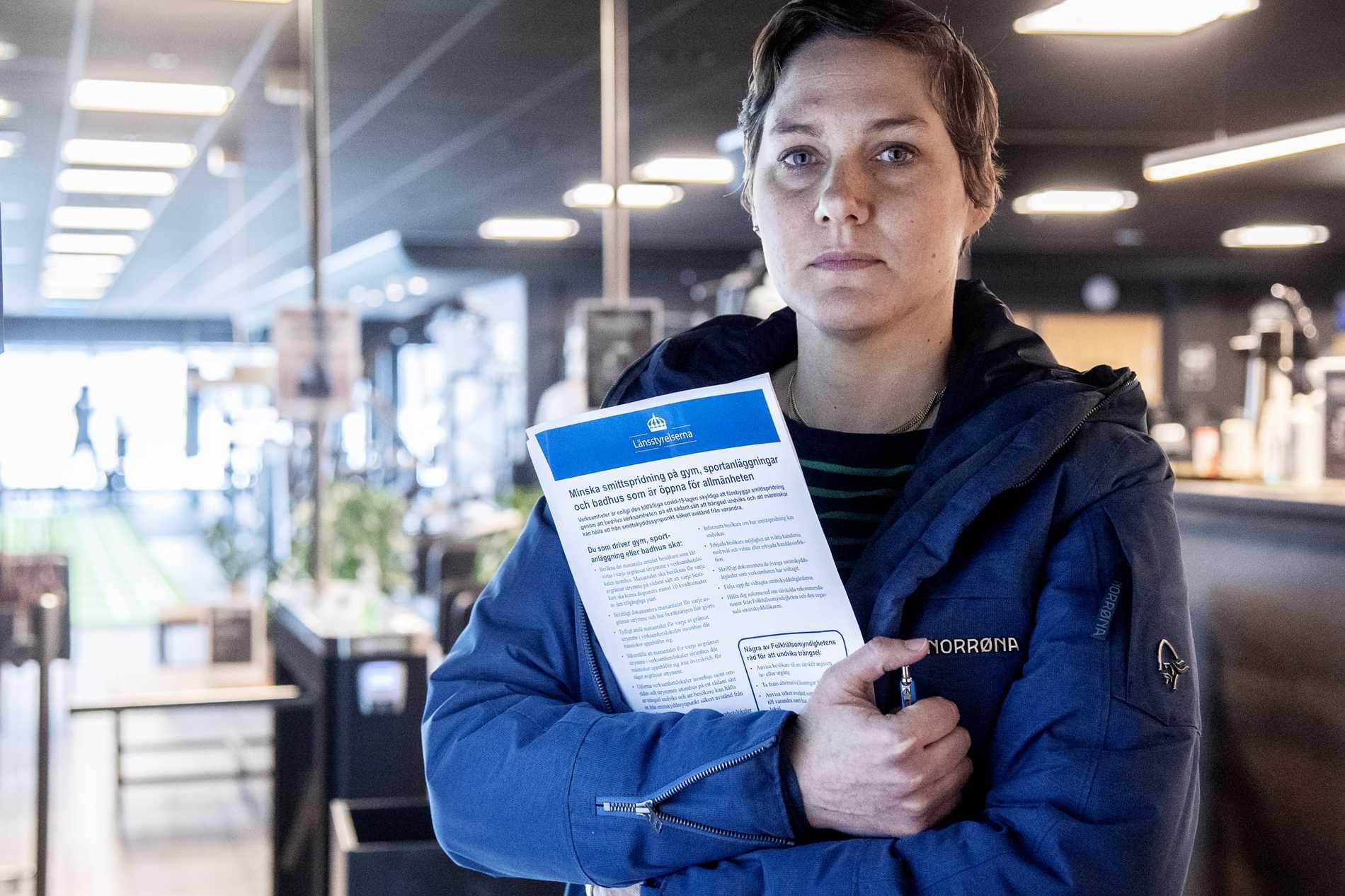 Moa Karlsson, biträdande enhetschef för tillsyn på länsstyrelsen.