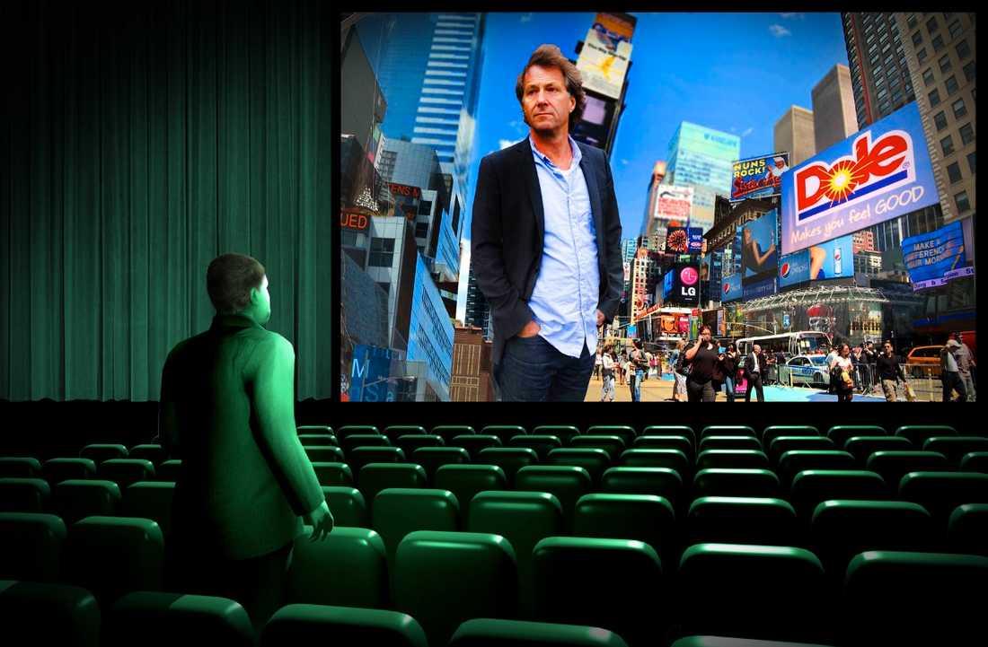 """Sanningen kommer fram Per Schlingmann och alla andra politiker som jobbar med pr borde se Fredrik Gerttens film """"Big boys gone bananas"""". Vi vet att i det öppna Sverige kommer sanningen alltid fram. Illustration: Paul Wallander"""