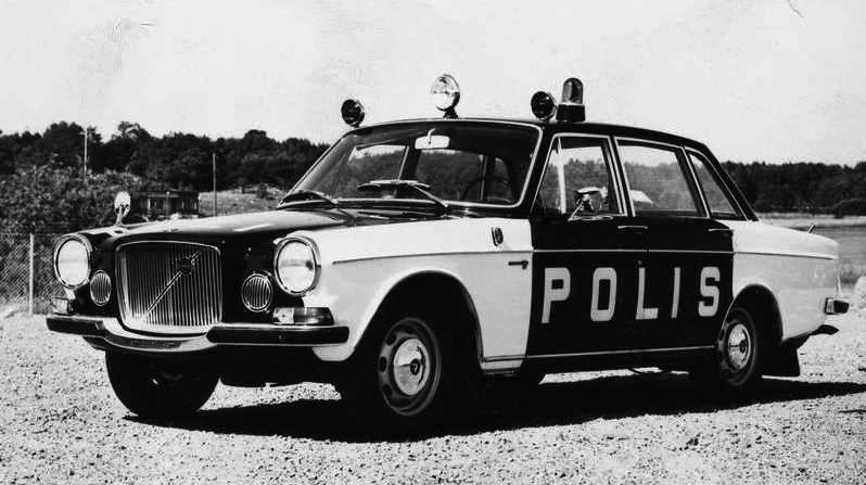 Volvo 164 – finvolvon som snutbil.