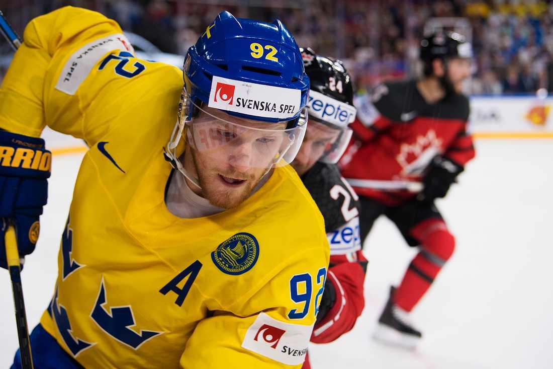 Gabriel Landeskog landar – och spelar match direkt