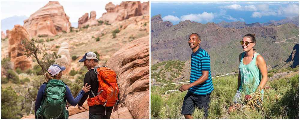 Bilden till höger visar omgivningarna Santiago del Teide på Teneriffa.