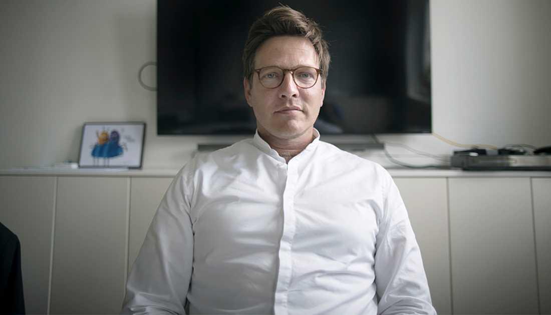"""Regissören för filmen """"Kursk"""" Thomas Vinterberg."""