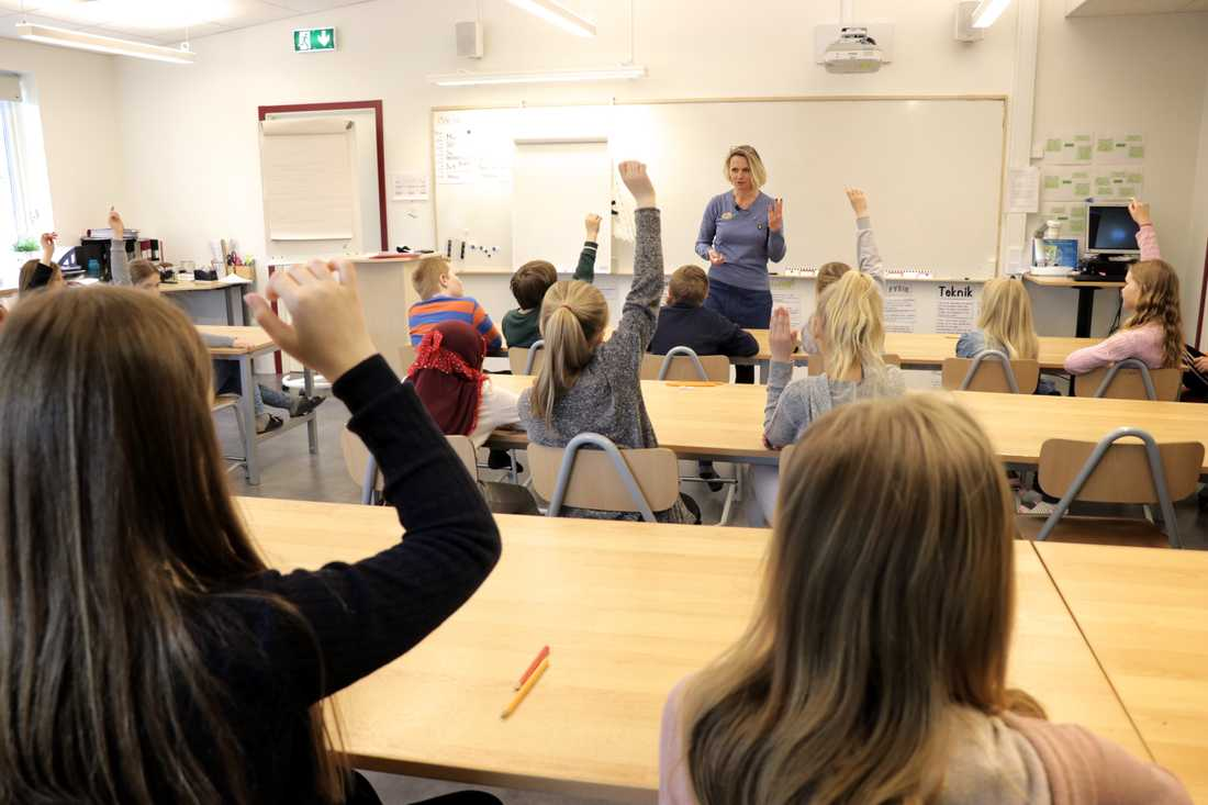 Eleverna älskar lektionerna då de pratar om fördomar och allas lika värde.