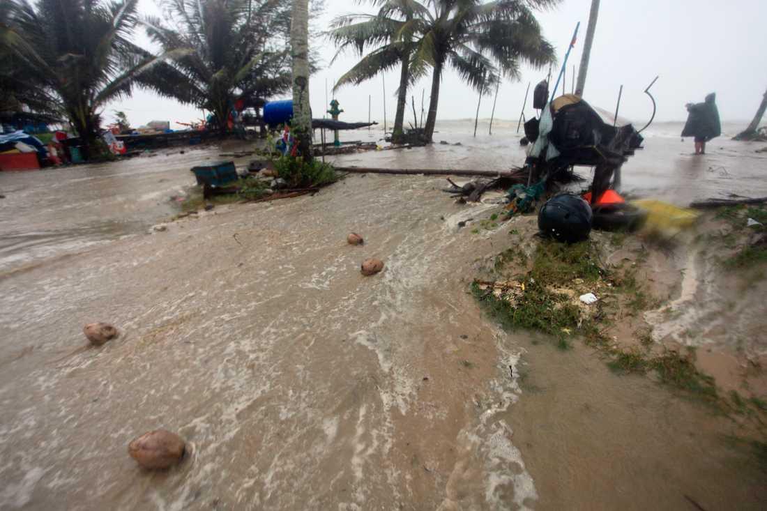 Provinsen Nakhon Si Thammarathar i södra Thailand har drabbats av översvämningar. Arkivbild.