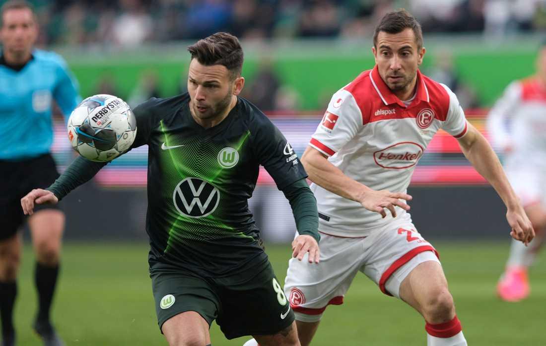 Wolfsburgs Renato Steffen. Arkivbild.