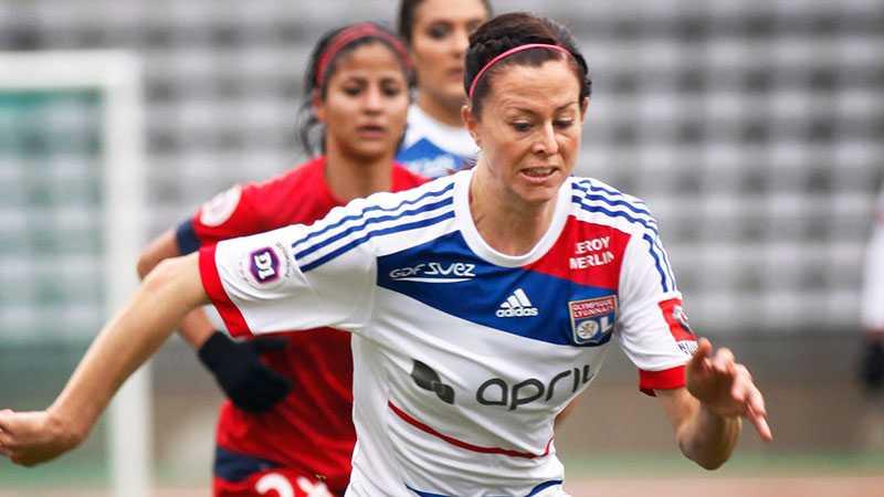 Lotta Schelin är stjärna i Lyon.