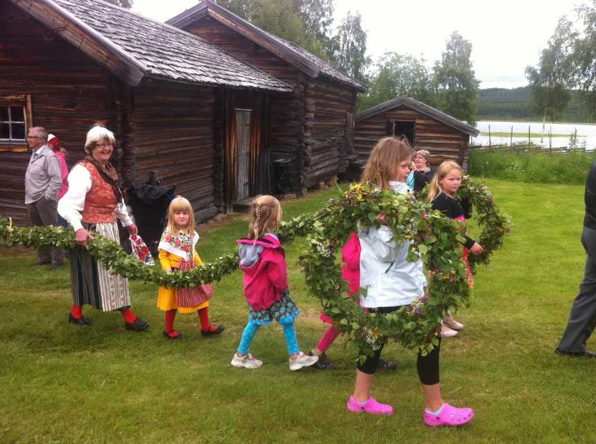 Linda Magnusson skickade den här härliga bilden på förberedelser.