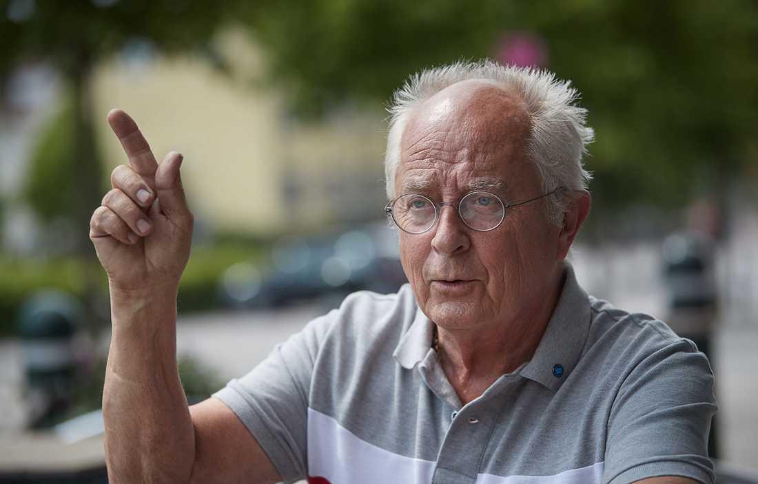 """""""Jag äter upp min hatt om vi inte blir största parti"""", säger Tommy Brorsson (SD)."""