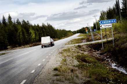 Fredrika har 300 invånare.