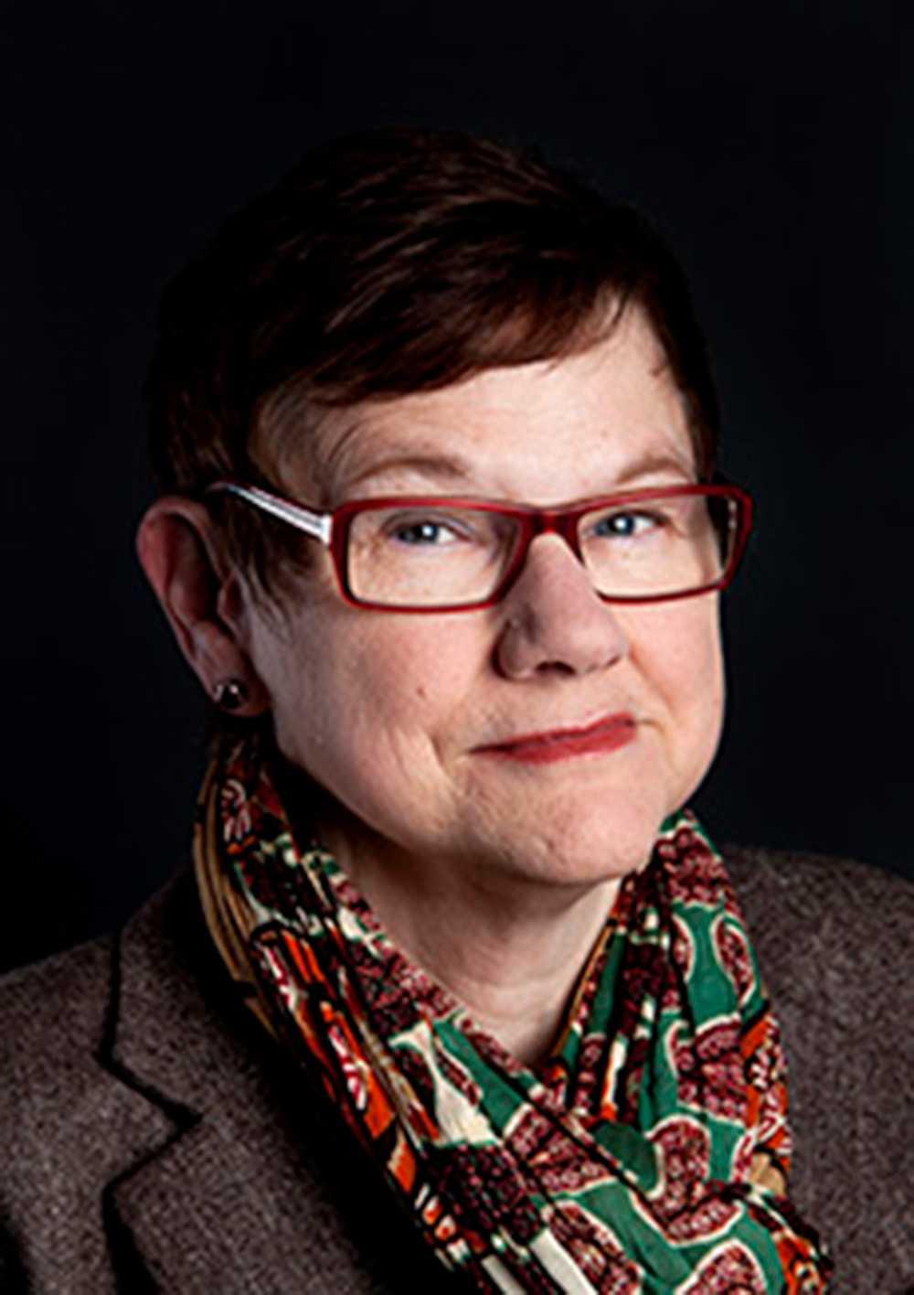 Margda Waern, professor vid Göteborgs universitet och överläkare i allmänpsykiatri.