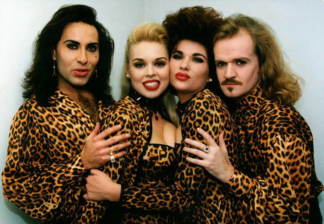 Jean-Pierre Barda i Army of lovers 1992.