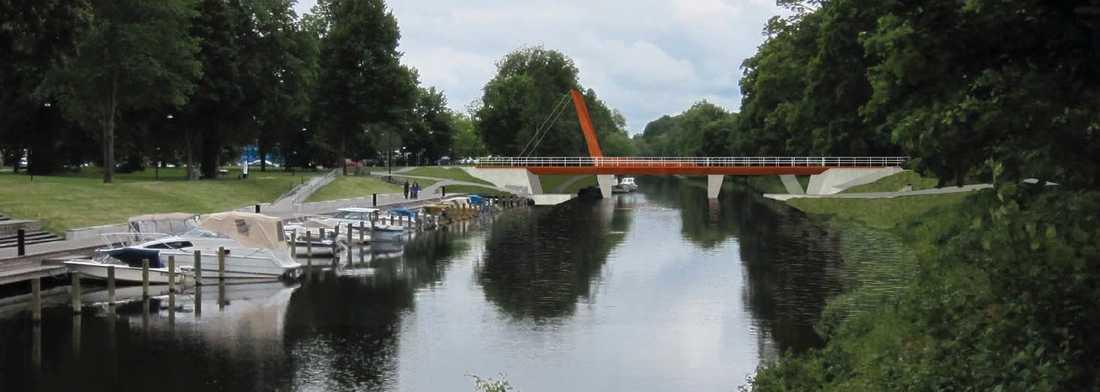 Så här ska nya Tullgarnsbron se ut.