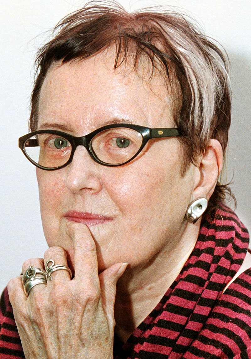 Författarinnan, illustratören och debattören Kerstin Thorvall avled i går efter en tids sjukdom.