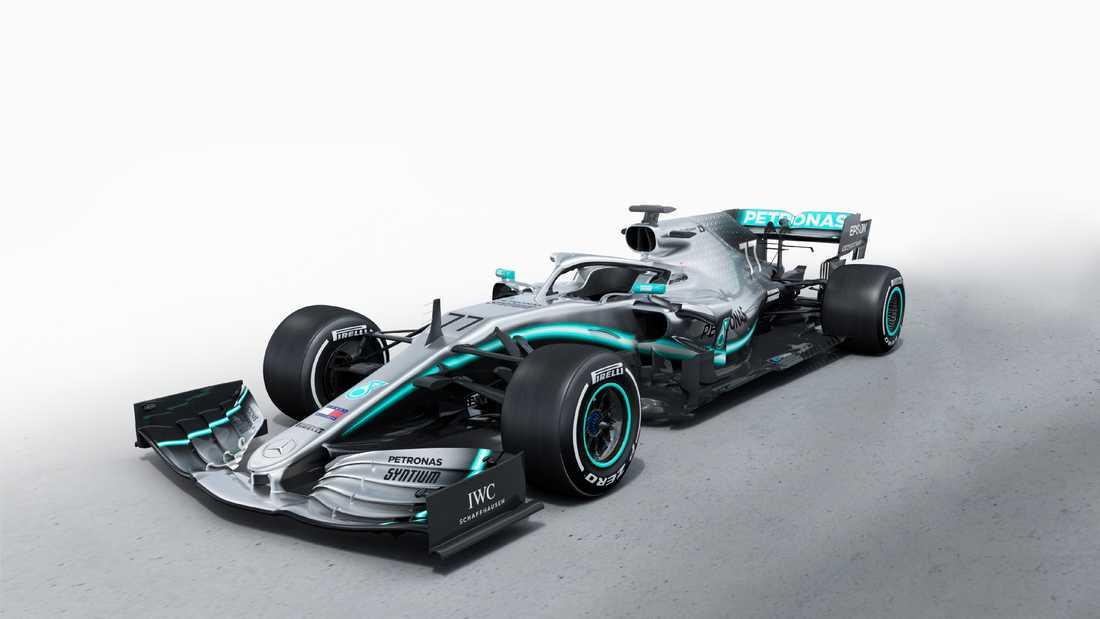 Mercedes presenterar bilen som ska vinna Formel 1 2019