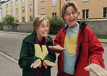 Aftonbladet kan i dag avslöja att syskonen Pernilla och Niclas Wahlgren blir det nya programledarparet i TV 4:s barnprogram. De räknar med att komma bra överens. - Vi har känt varandra i 33 år och aldrig grälat, säger de.