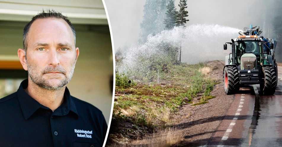"""Räddningsledaren Robert Strid: """"De frivilliga är en enorm resurs"""""""