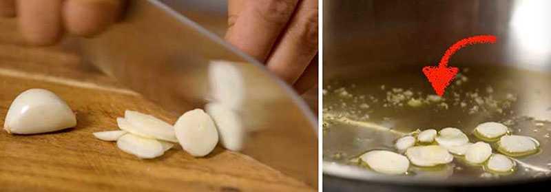 Tips för hur vitlök får en mildare smak.