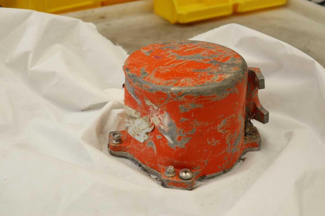 Svarta lådan från olycksplanet i Etiopien.