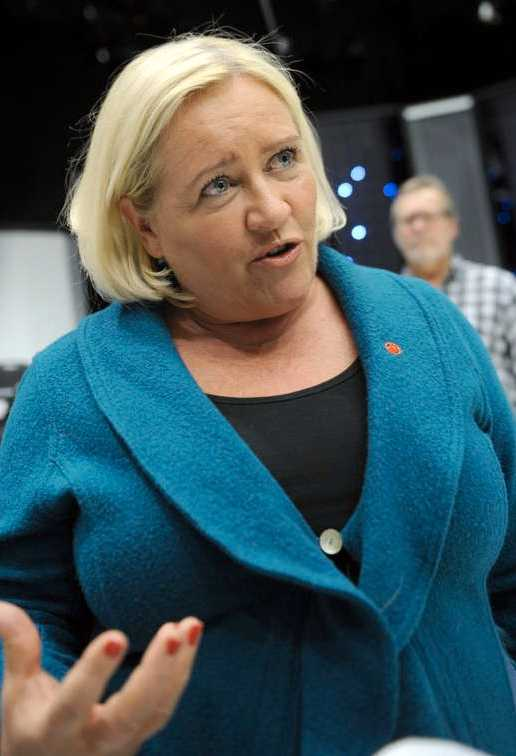 Rädda Barnens generalsekreterare Elisabet Dahlin.