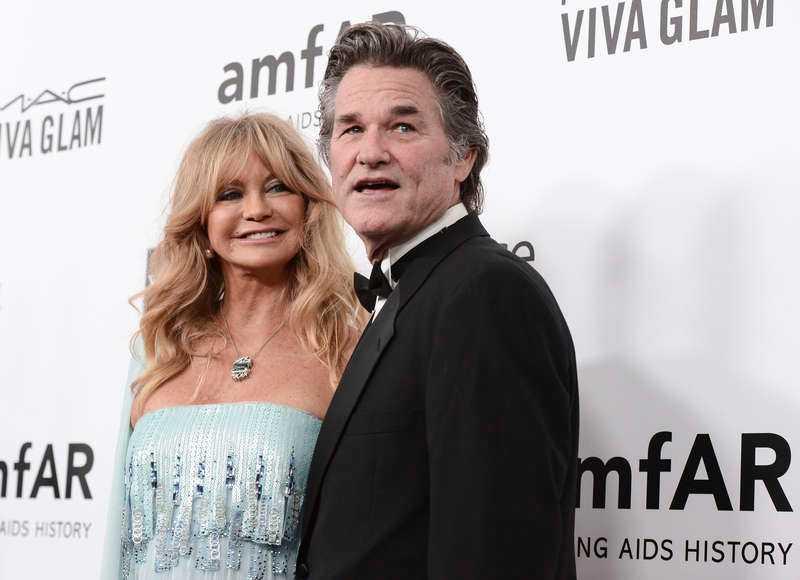 Goldie Hawn och Kurt Russel.