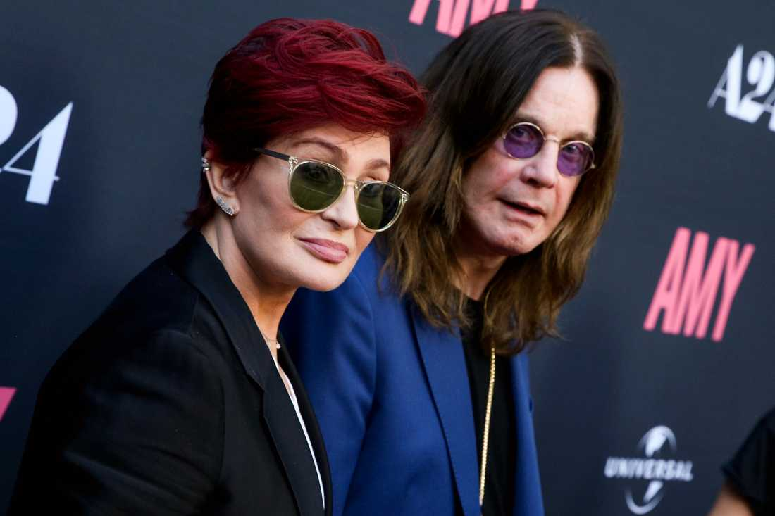 Sharon och Ozzy.