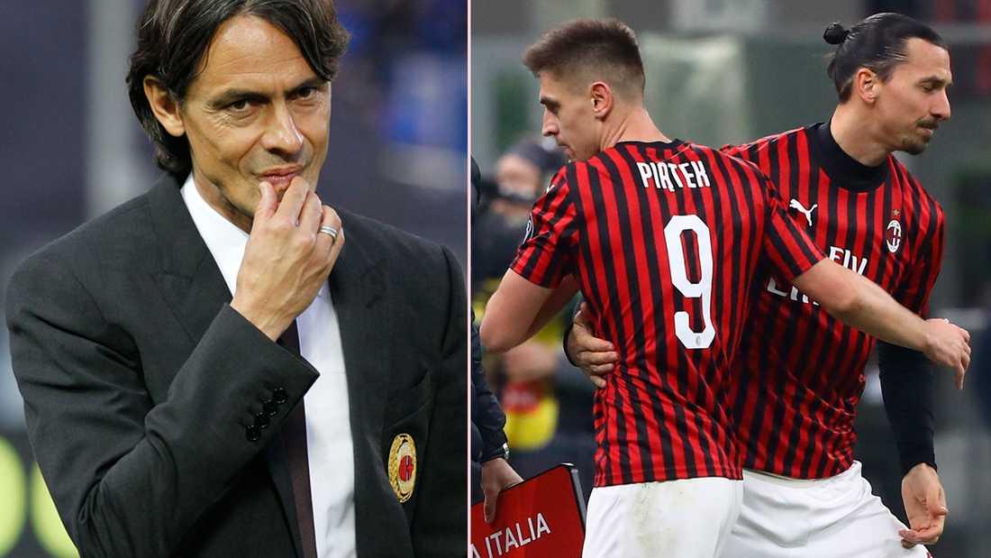 Filippo Inzaghi tror att Zlatan kan bryta förbannelsen med nummer 9.
