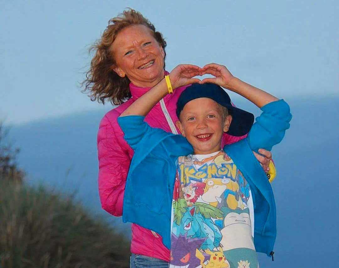 Maggan och Melvin hade en nära relation innan hon gick bort i bröstcancer.