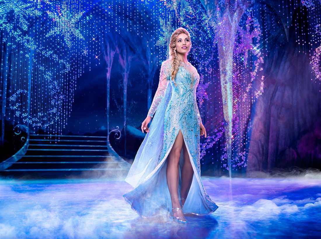"""""""Frost"""" på Broadway kommer inte tillbaka. Här syns Ciara Renée i rollen som Elsa. Pressbild."""