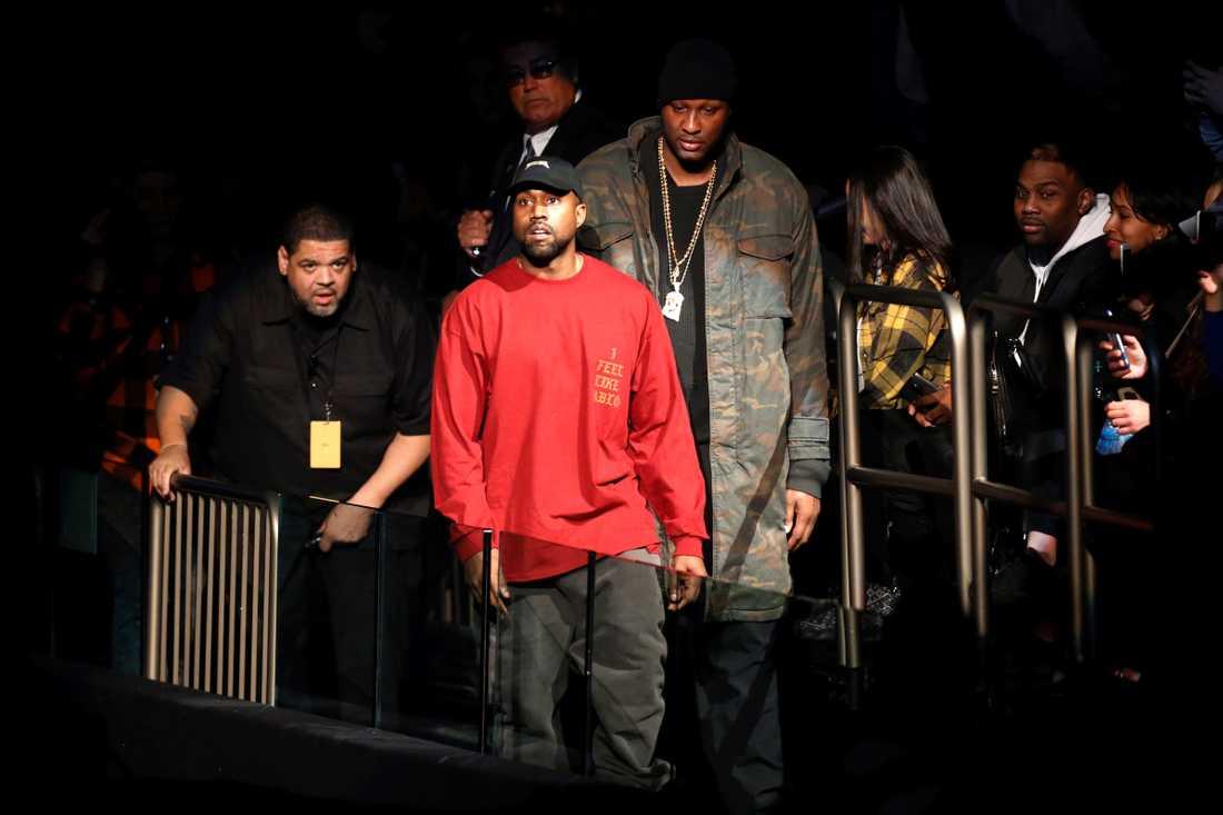 Lamar och Kanye.