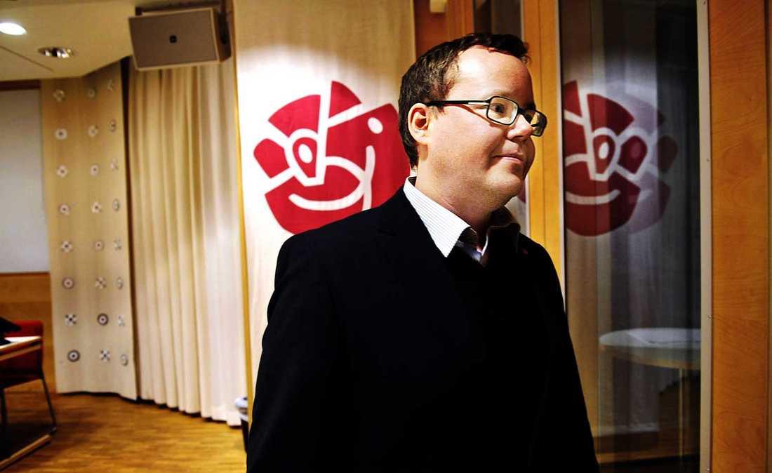Olle Burell (S), skolborggarråd i Stockholm.