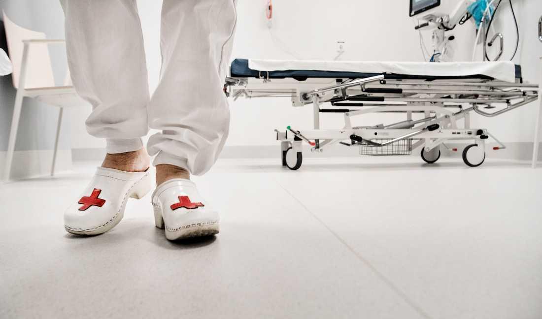 Genrebild från sjukhus.