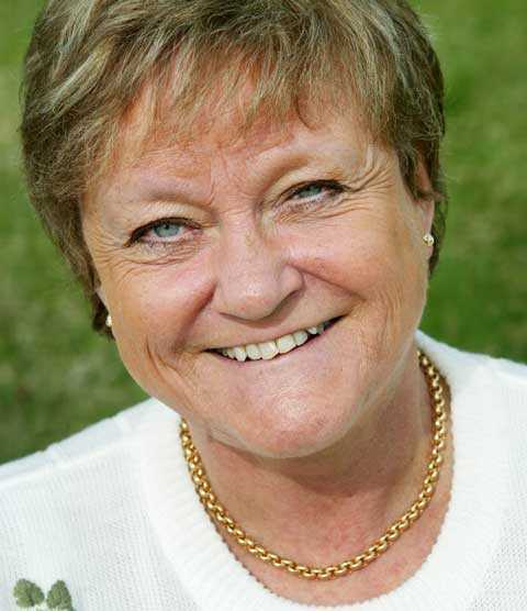 Anna-Lena Löfgren blev 66 år.