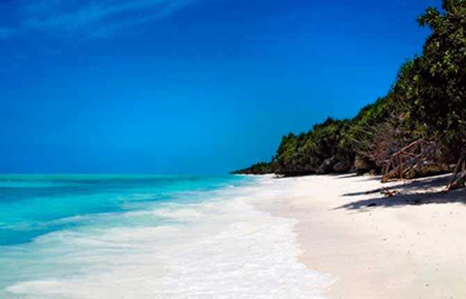 Ras Nungwi Beach.