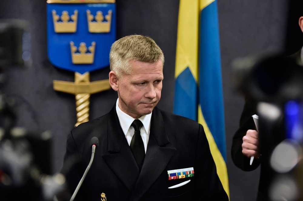 Kommendör Jonas Wikström
