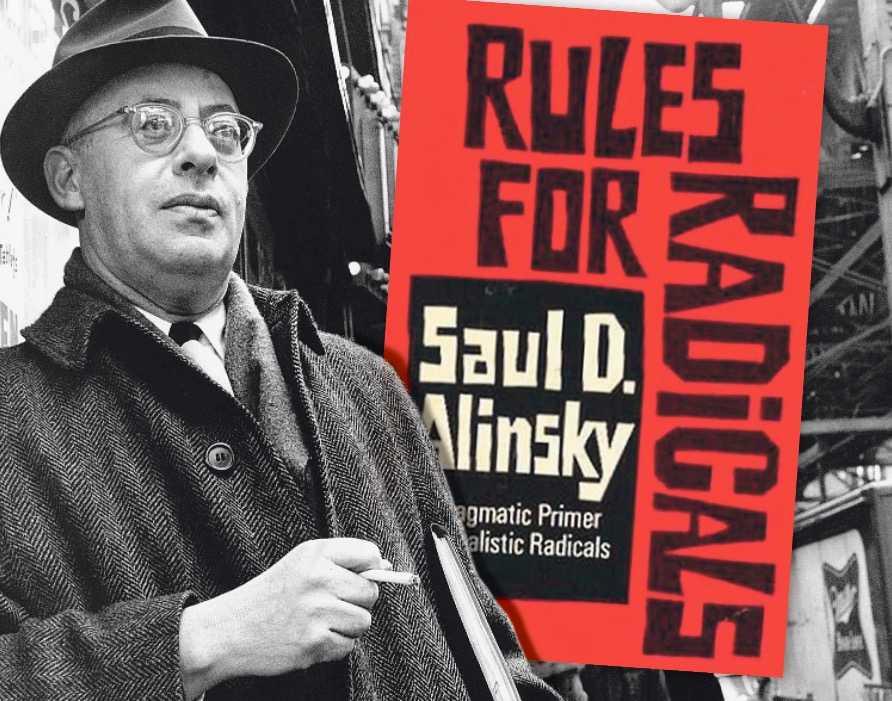 """Aktivisten och författaren Saul D Alinsky (1909–1972) riktade sig till 68-vänstern med boken """"Rules for radicals"""" med 13 enkla råd för sociala rörelser."""