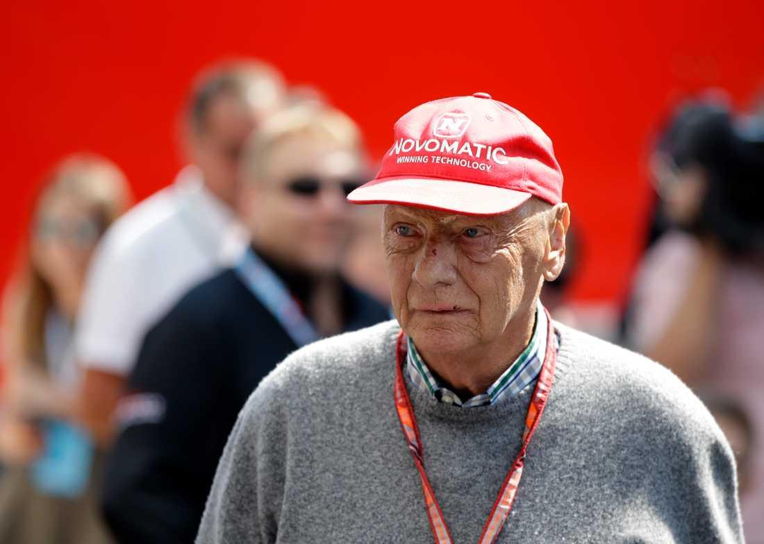 Niki Lauda blev 70 år.