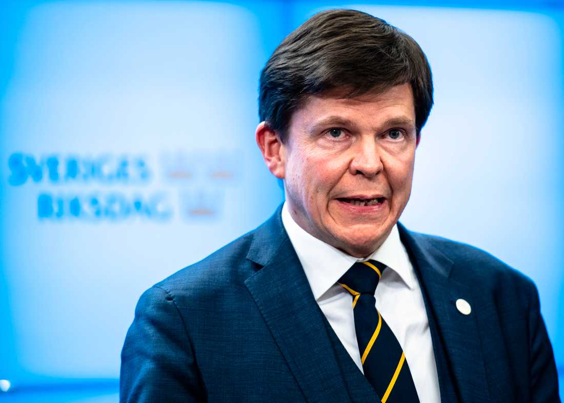 Talmannen Andreas Norlén väntas lämna besked om nästa steg under måndagen.
