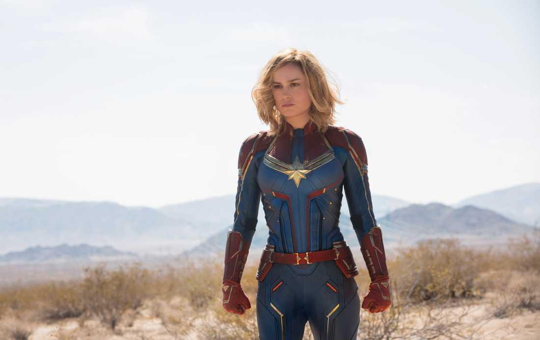 Captain Marvel spelas av Brie Larson.