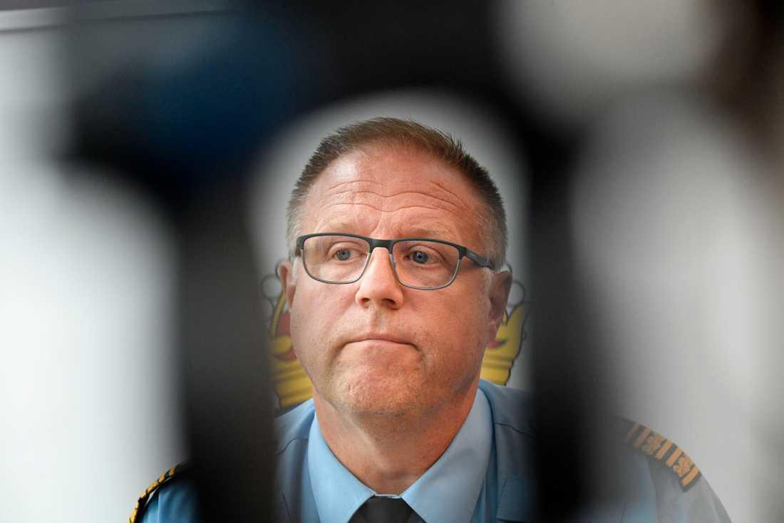 Malmös polismästare Stefan Sintéus. Arkivbild.