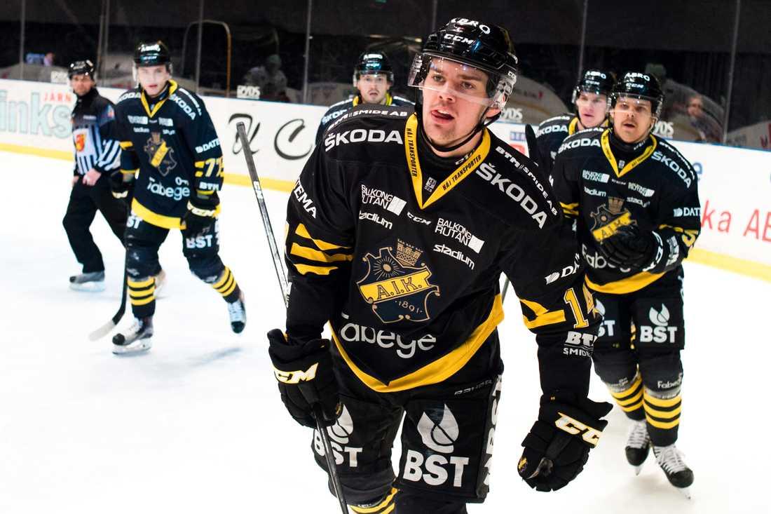 Kalle Jellvert, lånades ut från Örebro till AIK.